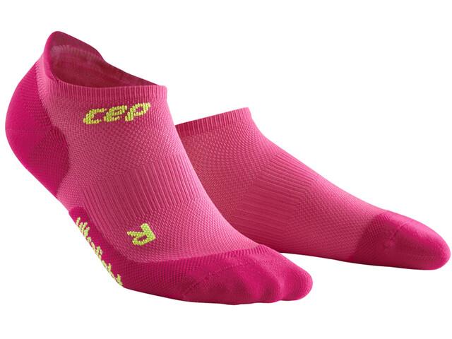 cep Dynamic+ Ultralight No Show Sokken Dames, electric pink/green